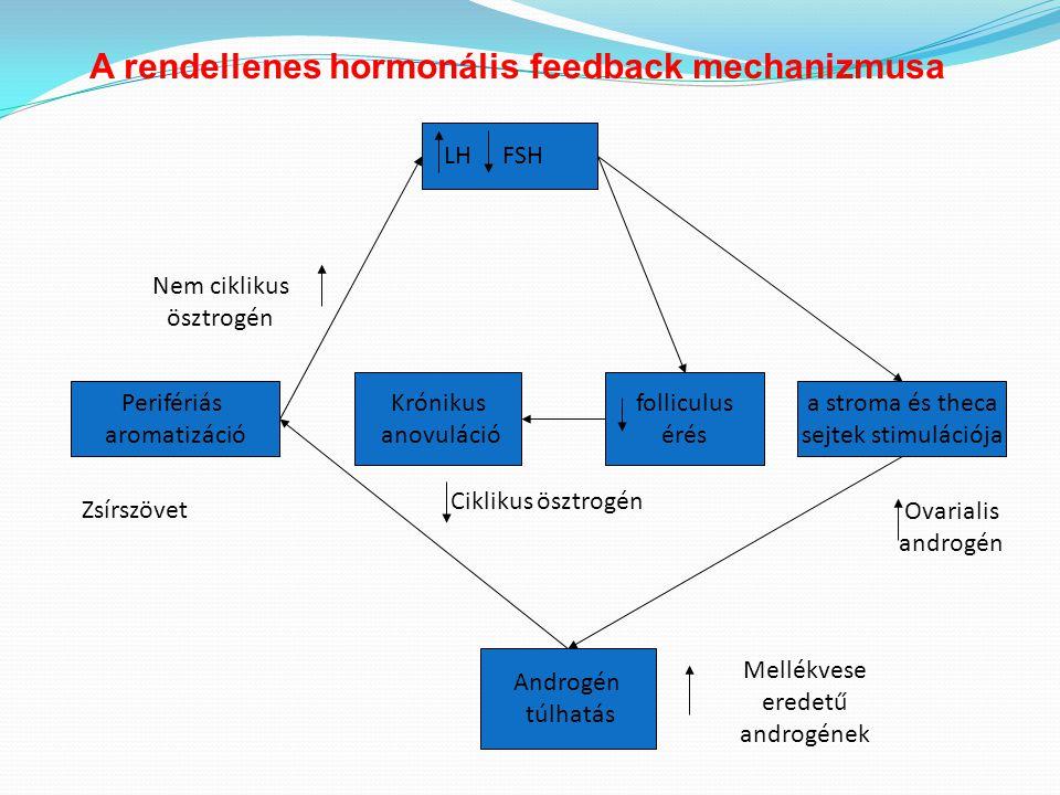 A rendellenes hormonális feedback mechanizmusa