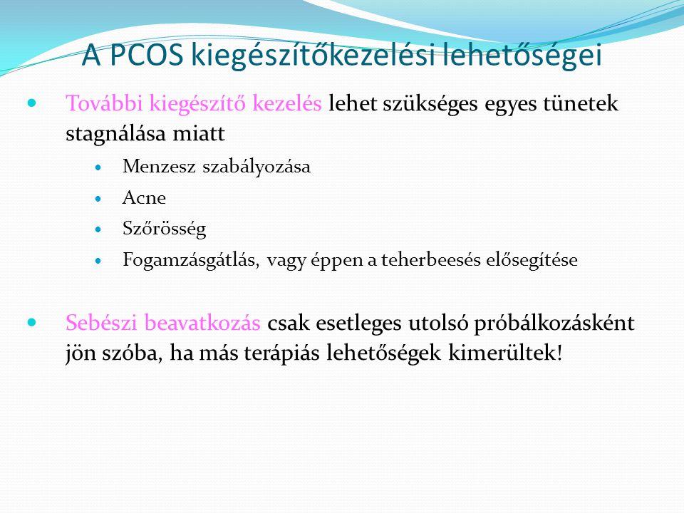A PCOS kiegészítőkezelési lehetőségei