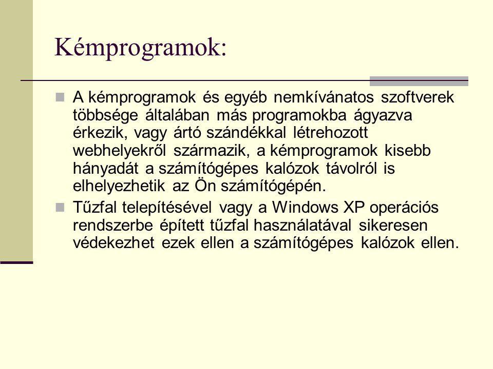 Kémprogramok: