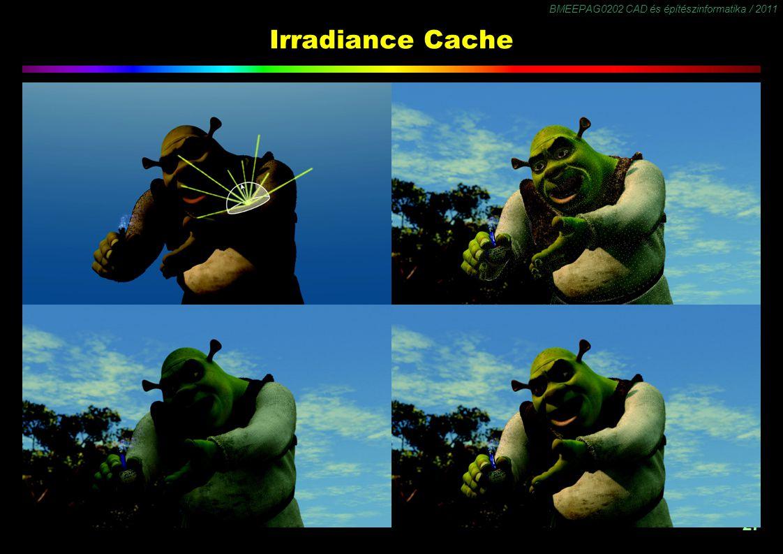 Irradiance Cache Számítás