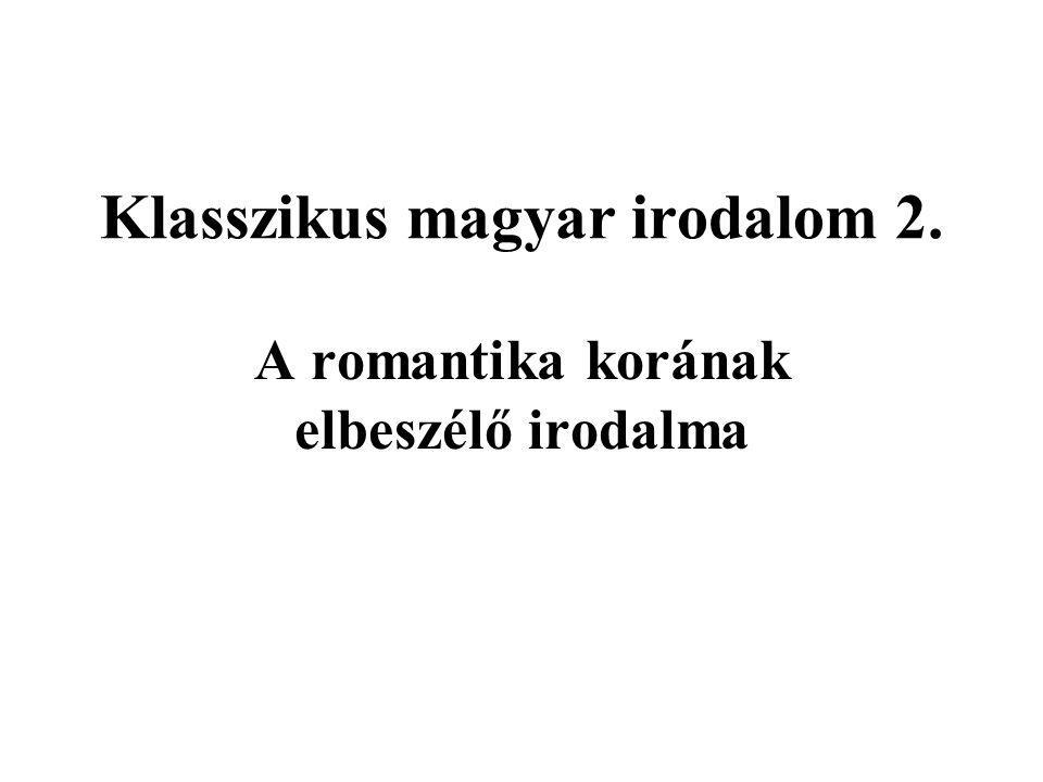Klasszikus magyar irodalom 2.
