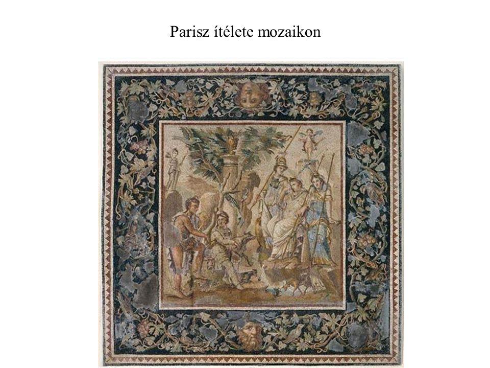 Parisz ítélete mozaikon