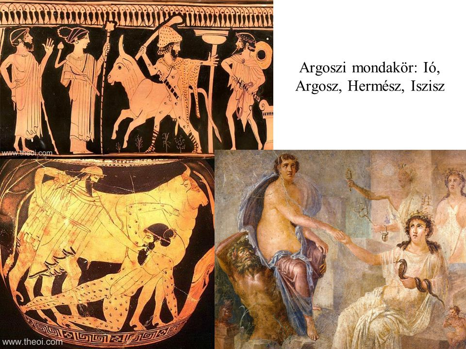 Argoszi mondakör: Ió, Argosz, Hermész, Iszisz
