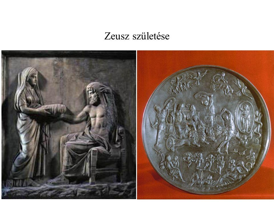 Zeusz születése