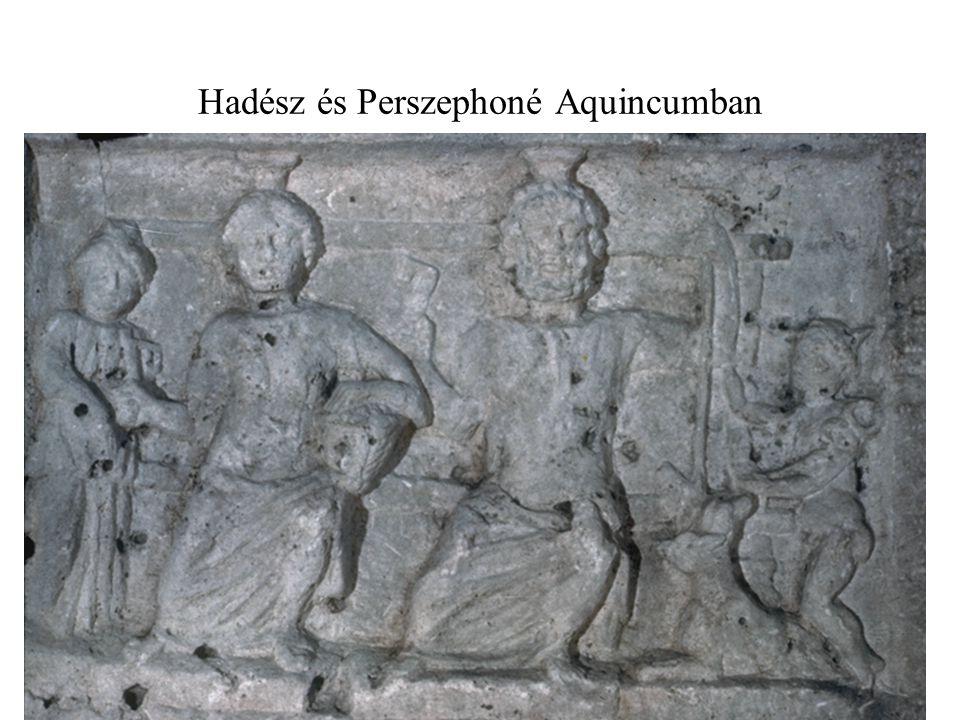 Hadész és Perszephoné Aquincumban