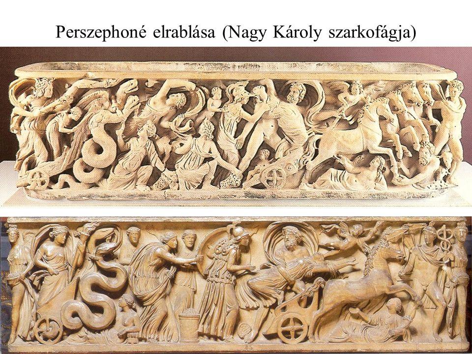 Perszephoné elrablása (Nagy Károly szarkofágja)