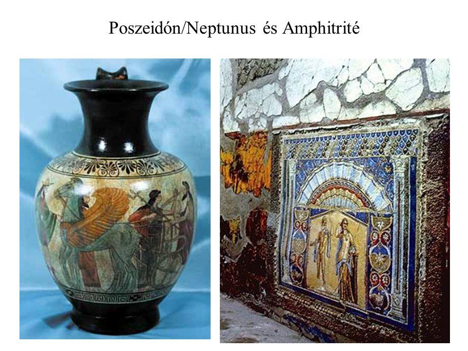 Poszeidón/Neptunus és Amphitrité