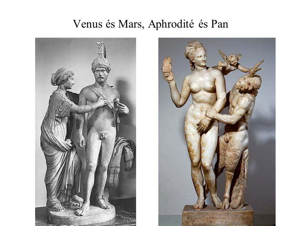 Venus és Mars, Aphrodité és Pan