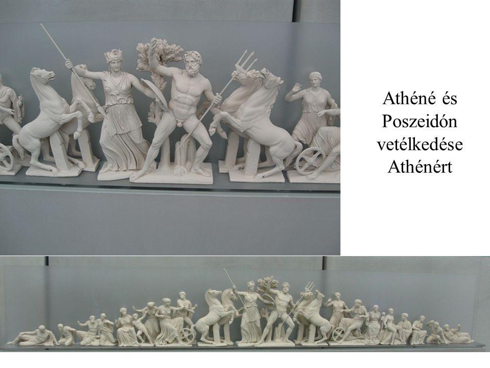 Athéné és Poszeidón vetélkedése Athénért