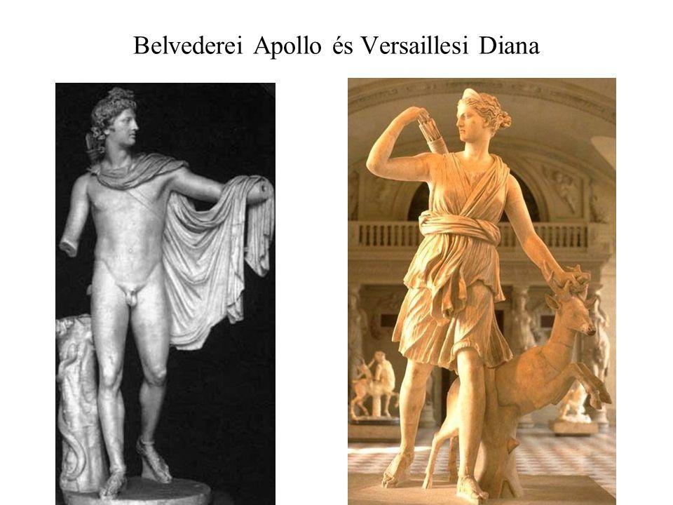 Belvederei Apollo és Versaillesi Diana