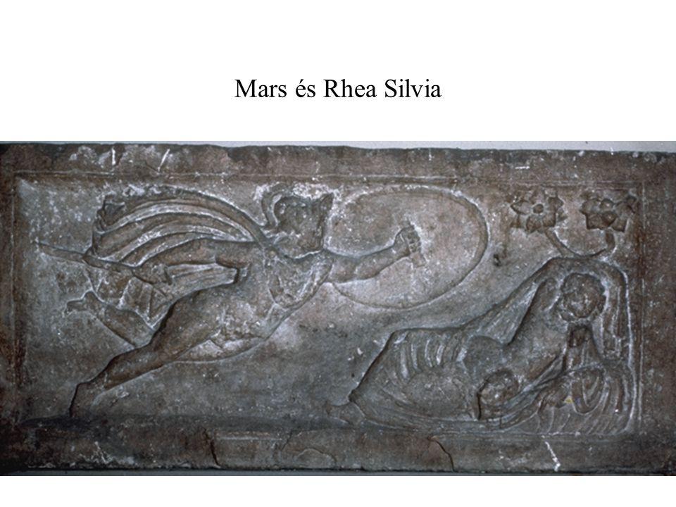 Mars és Rhea Silvia