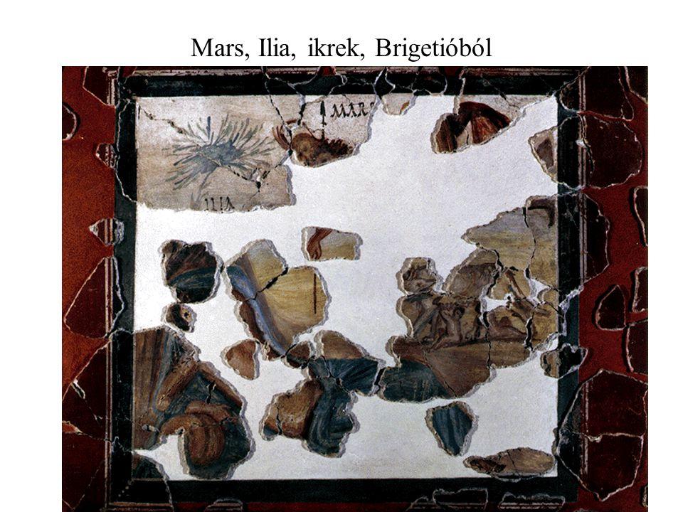 Mars, Ilia, ikrek, Brigetióból