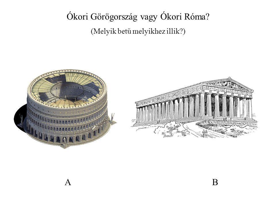 Ókori Görögország vagy Ókori Róma