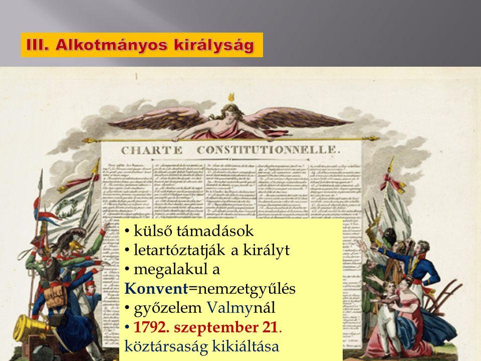 III. Alkotmányos királyság