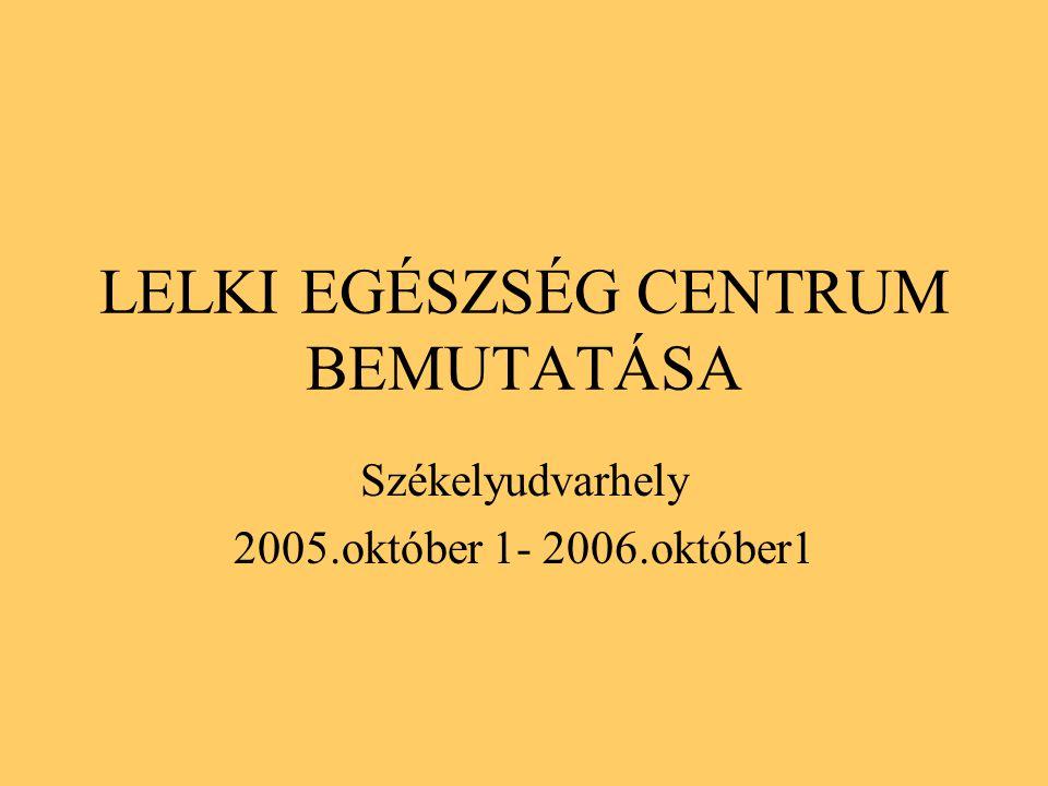 LELKI EGÉSZSÉG CENTRUM BEMUTATÁSA