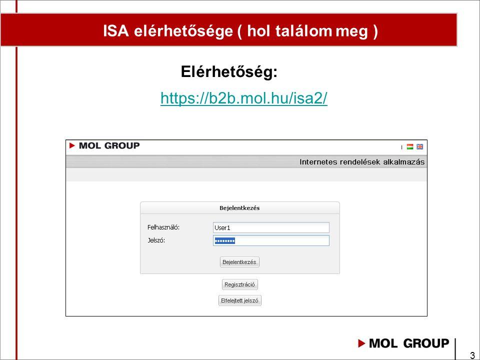 ISA elérhetősége ( hol találom meg )