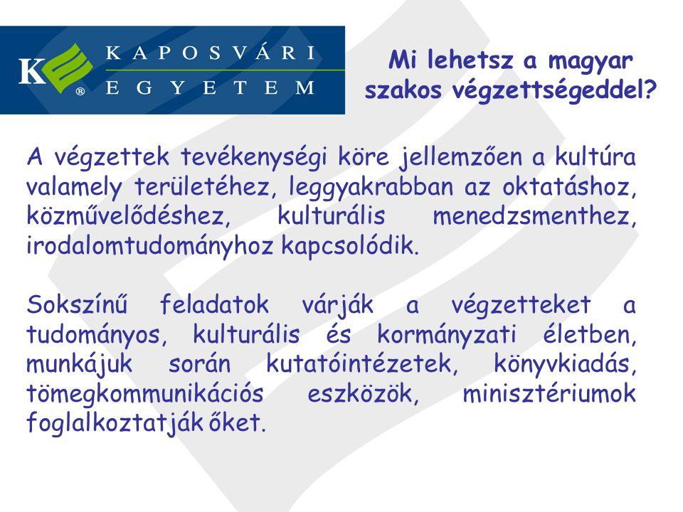 Mi lehetsz a magyar szakos végzettségeddel