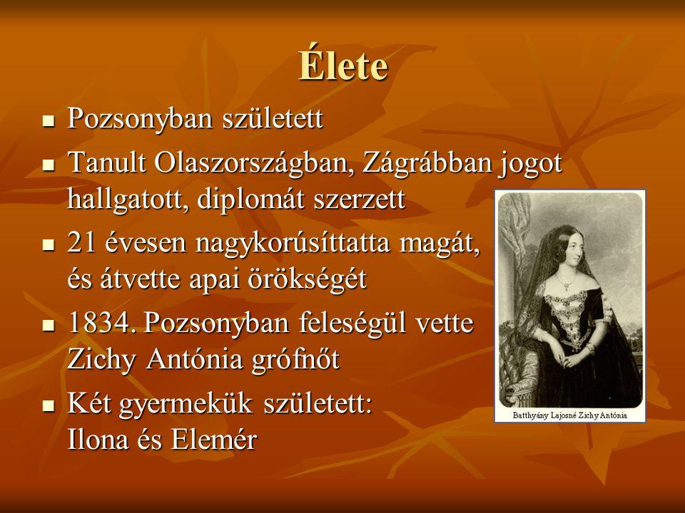 Élete Pozsonyban született