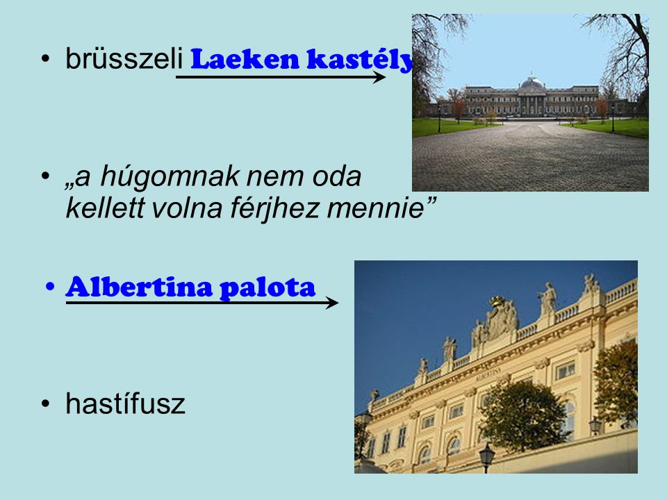 brüsszeli Laeken kastély