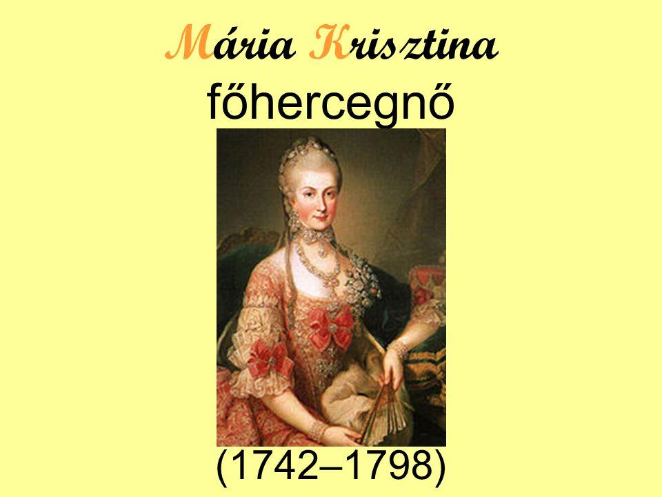 Mária Krisztina főhercegnő (1742–1798)