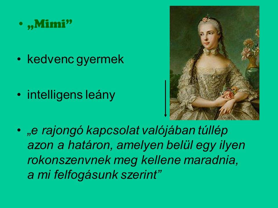 """""""Mimi kedvenc gyermek. intelligens leány."""