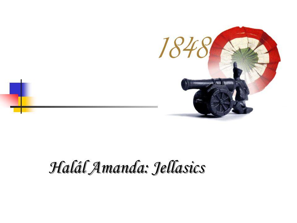 Halál Amanda: Jellasics