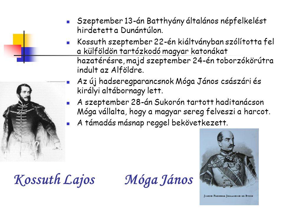 Kossuth Lajos Móga János