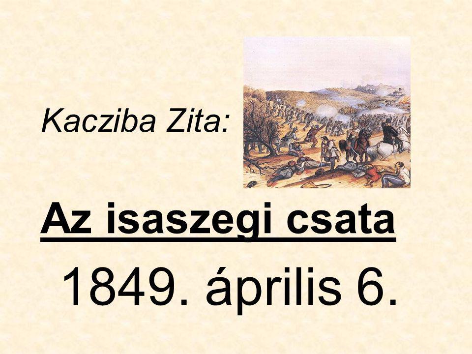 Kacziba Zita: Az isaszegi csata