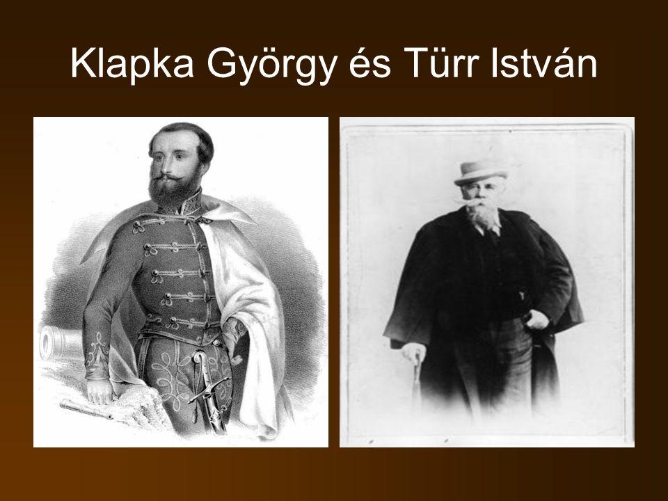 Klapka György és Türr István