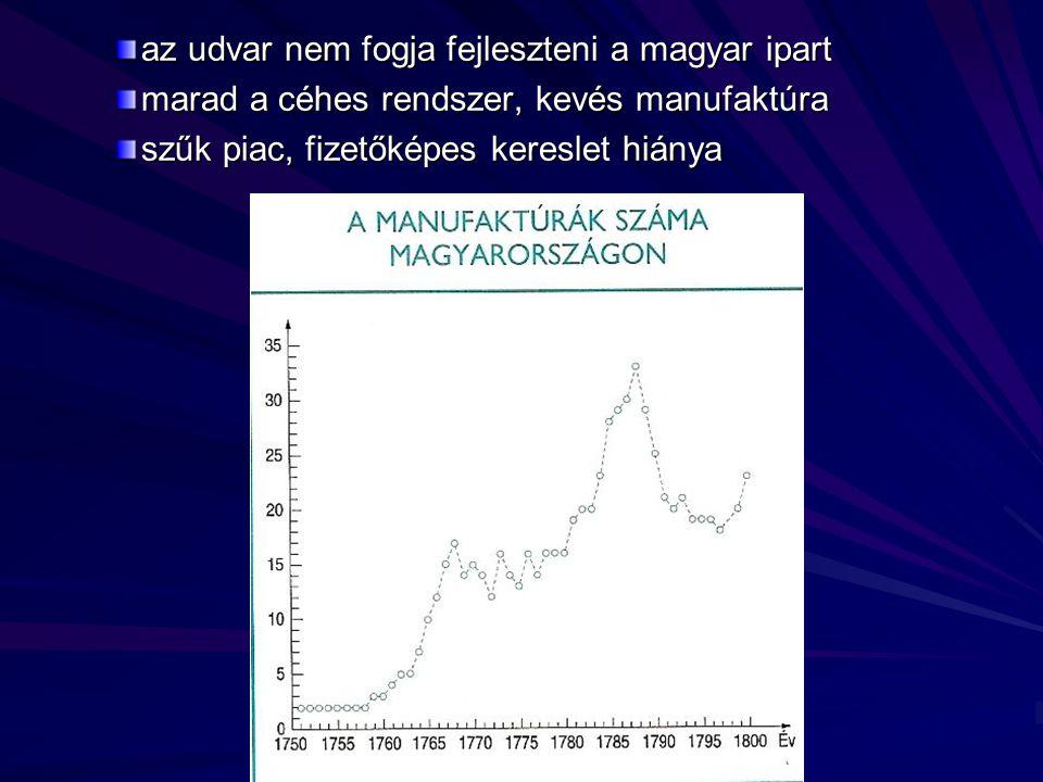 az udvar nem fogja fejleszteni a magyar ipart