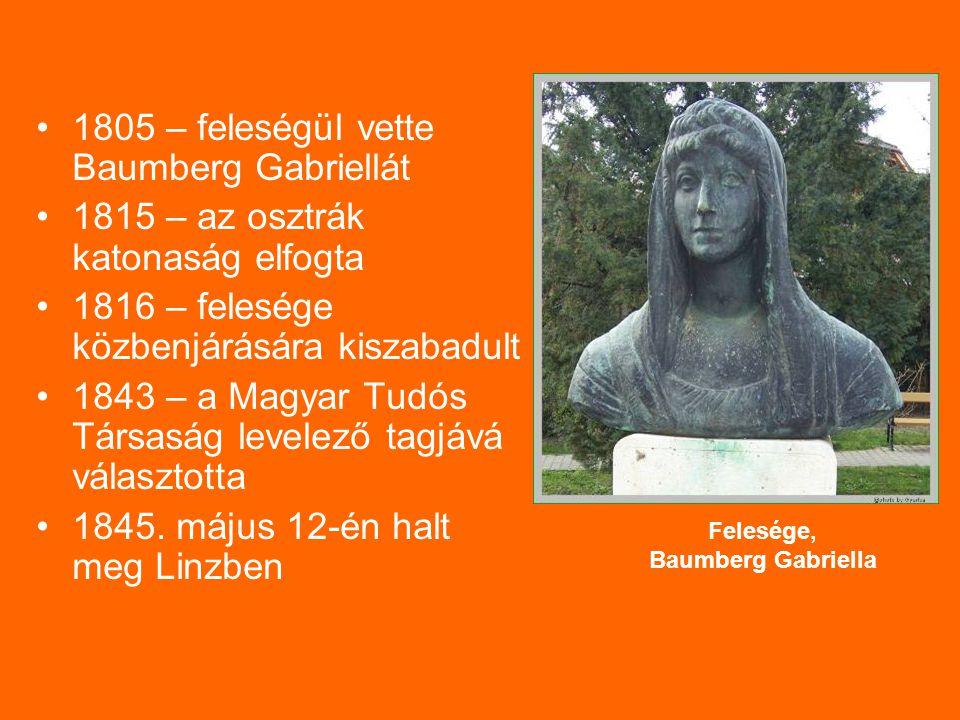 Felesége, Baumberg Gabriella