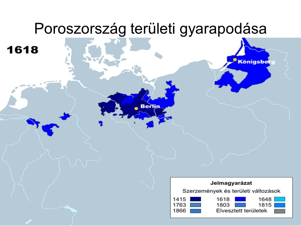 Poroszország területi gyarapodása