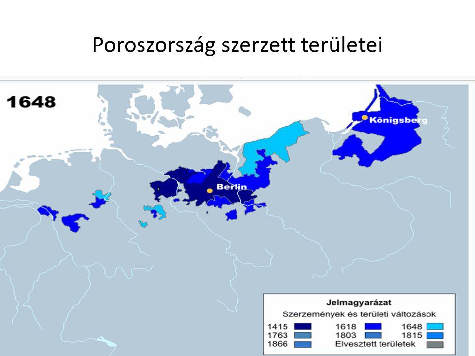 Poroszország szerzett területei