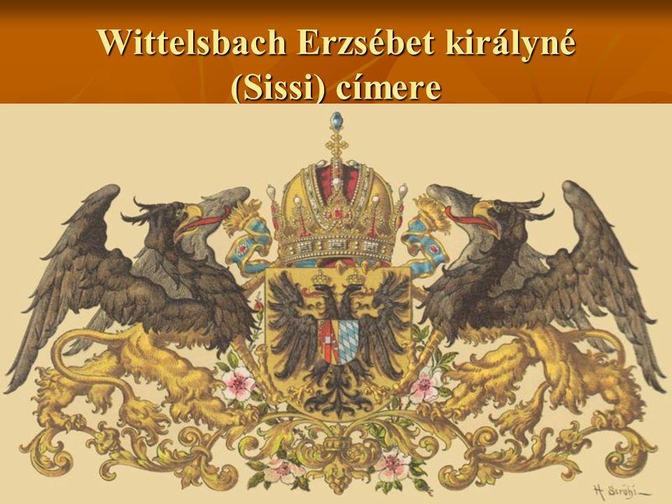 Wittelsbach Erzsébet királyné (Sissi) címere