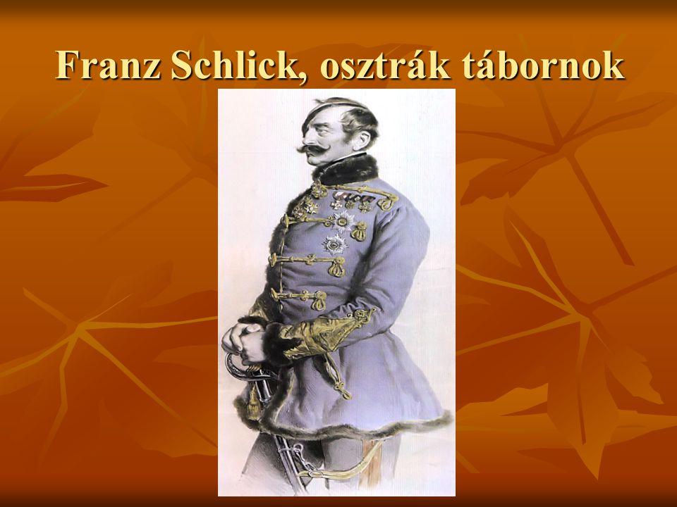 Franz Schlick, osztrák tábornok