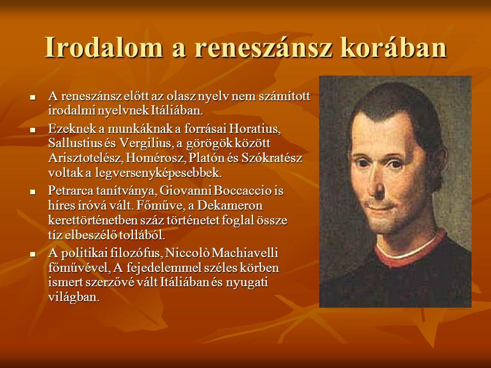 Irodalom a reneszánsz korában