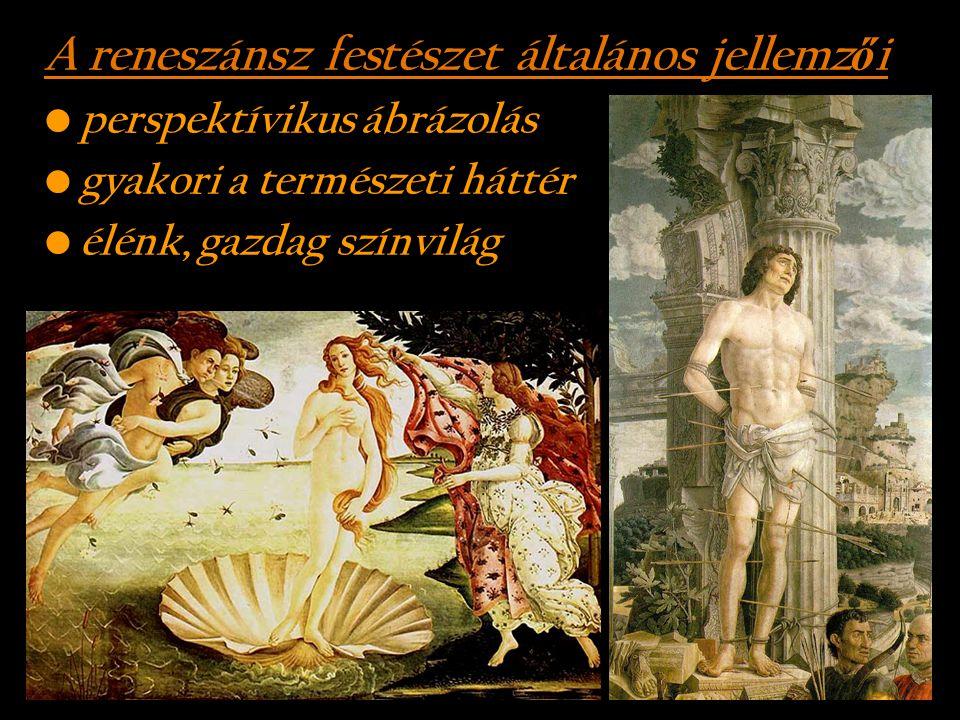 A reneszánsz festészet általános jellemzői