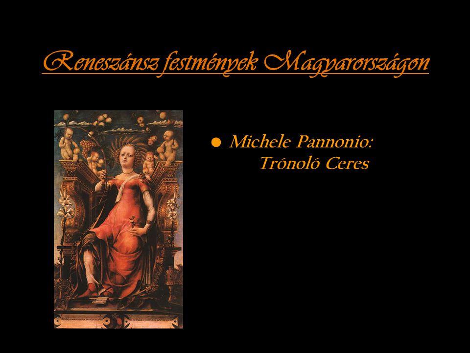 Reneszánsz festmények Magyarországon