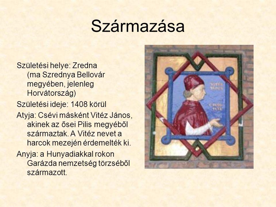 Származása Születési helye: Zredna (ma Szrednya Bellovár megyében, jelenleg Horvátország) Születési ideje: 1408 körül.