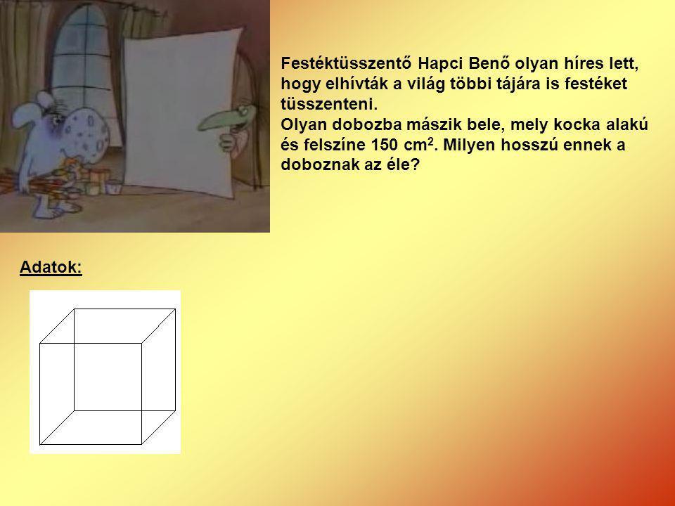 Festéktüsszentő Hapci Benő olyan híres lett, hogy elhívták a világ többi tájára is festéket tüsszenteni.
