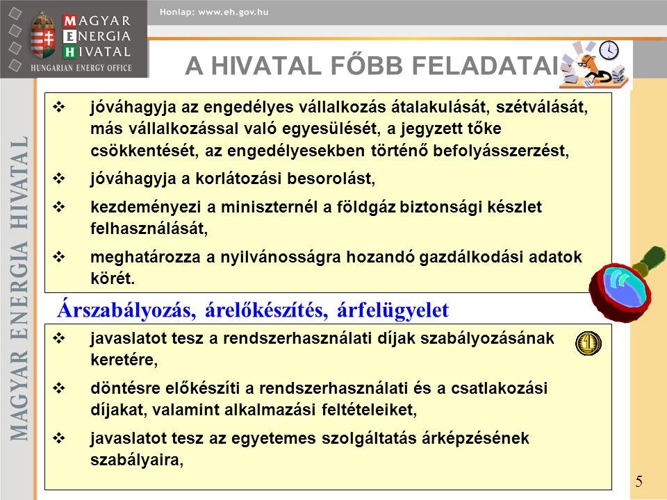 A HIVATAL FŐBB FELADATAI (4)