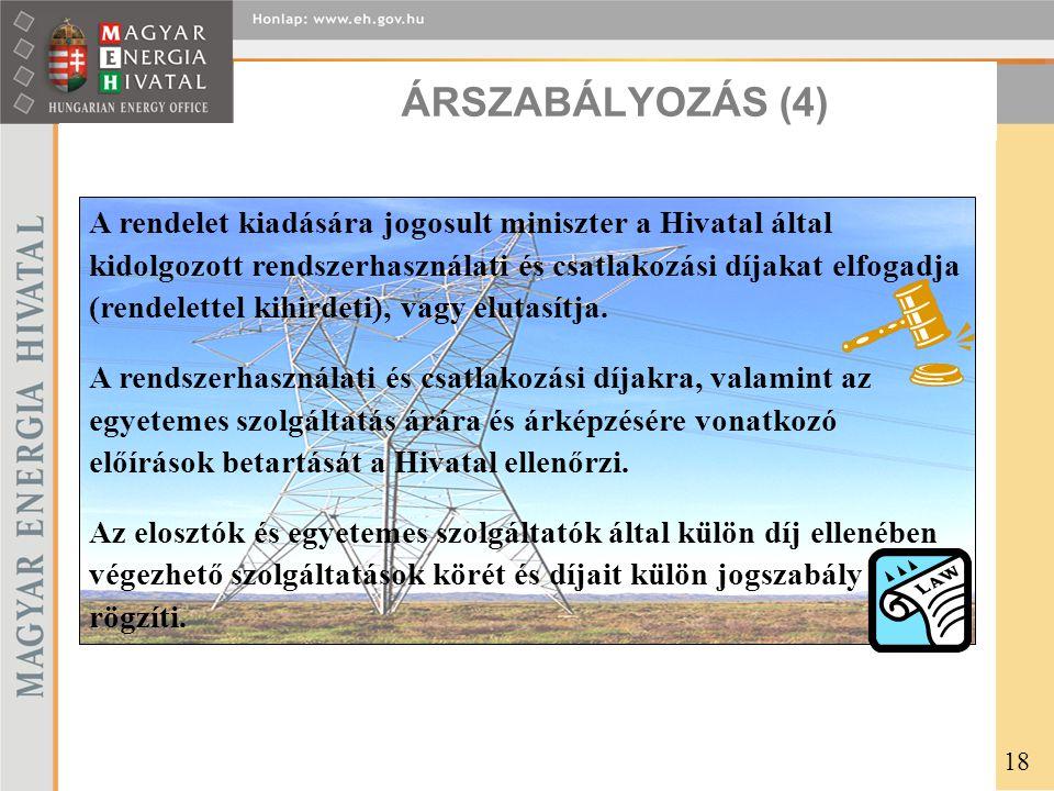 ÁRSZABÁLYOZÁS (4)