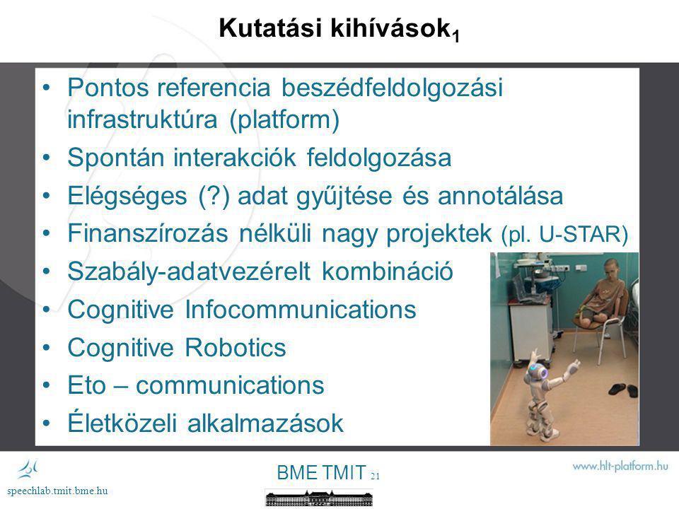 Pontos referencia beszédfeldolgozási infrastruktúra (platform)