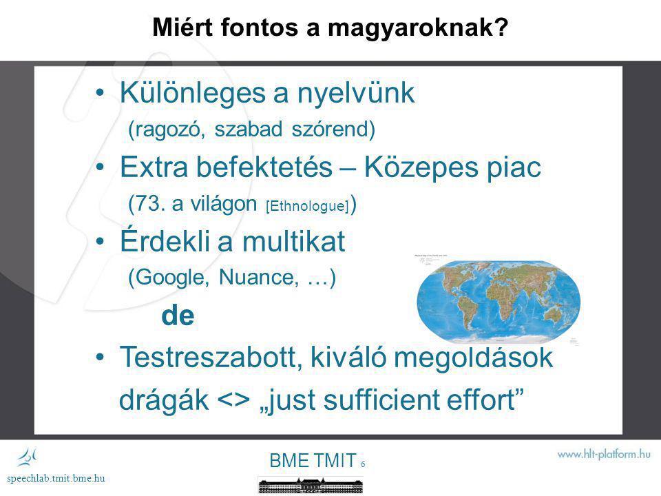 Miért fontos a magyaroknak