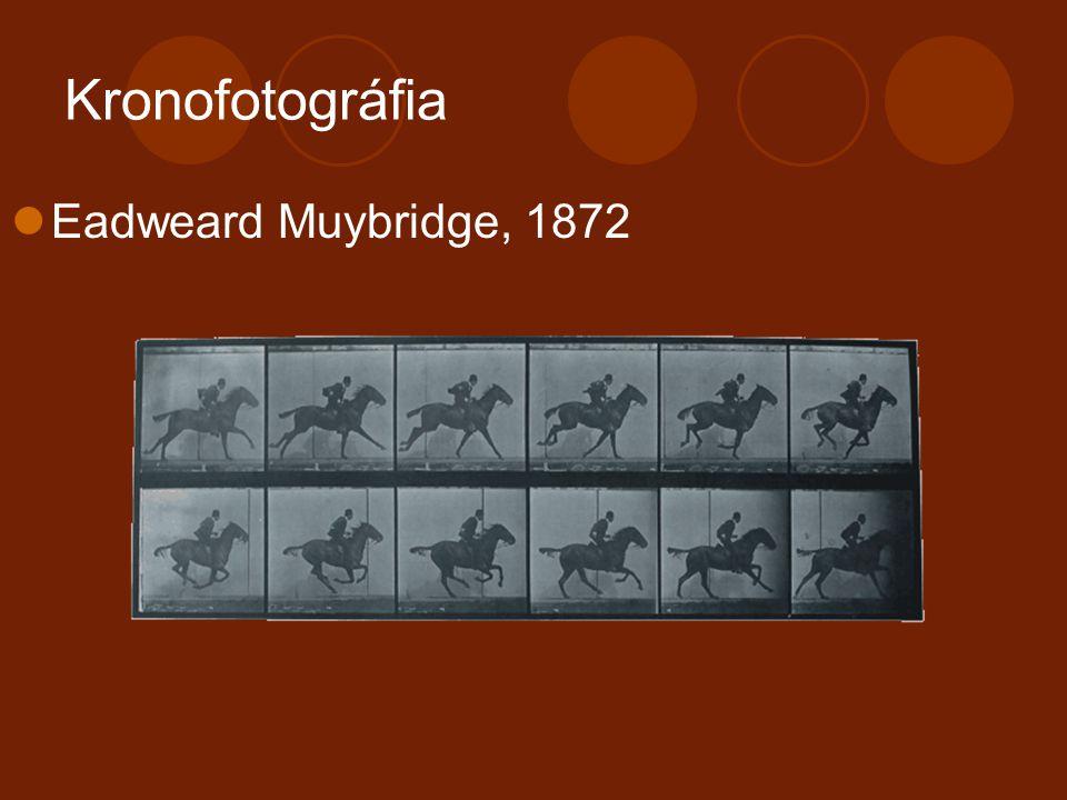 Kronofotográfia Eadweard Muybridge, 1872