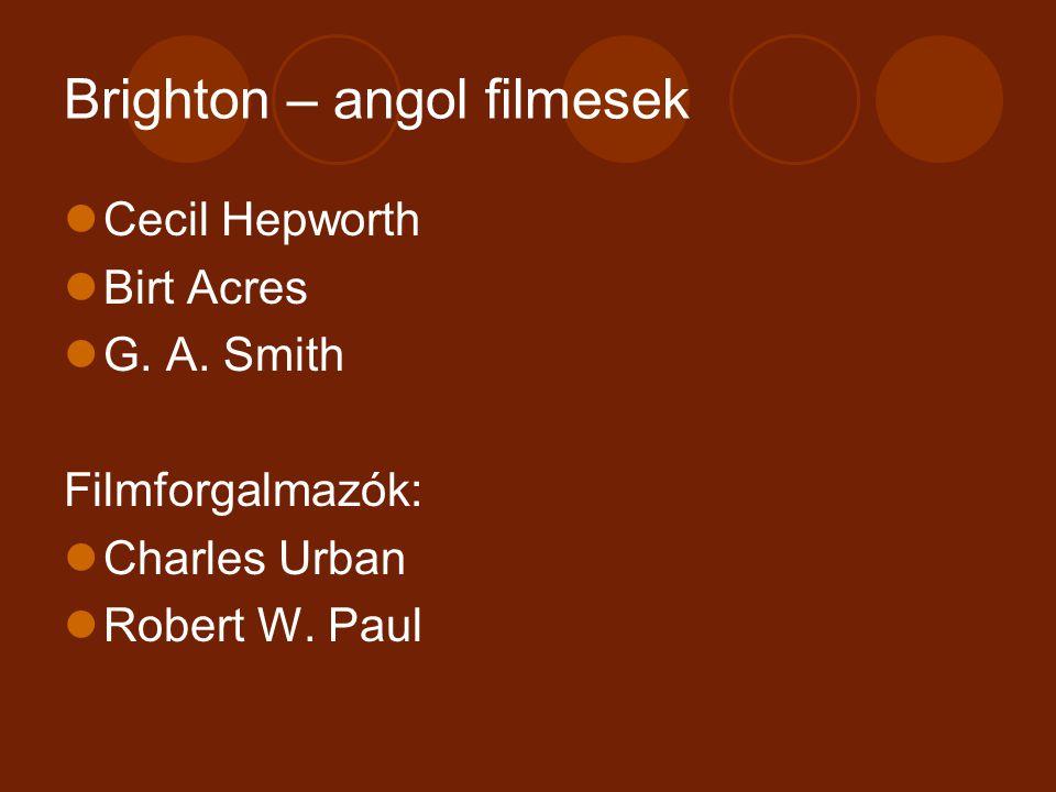 Brighton – angol filmesek
