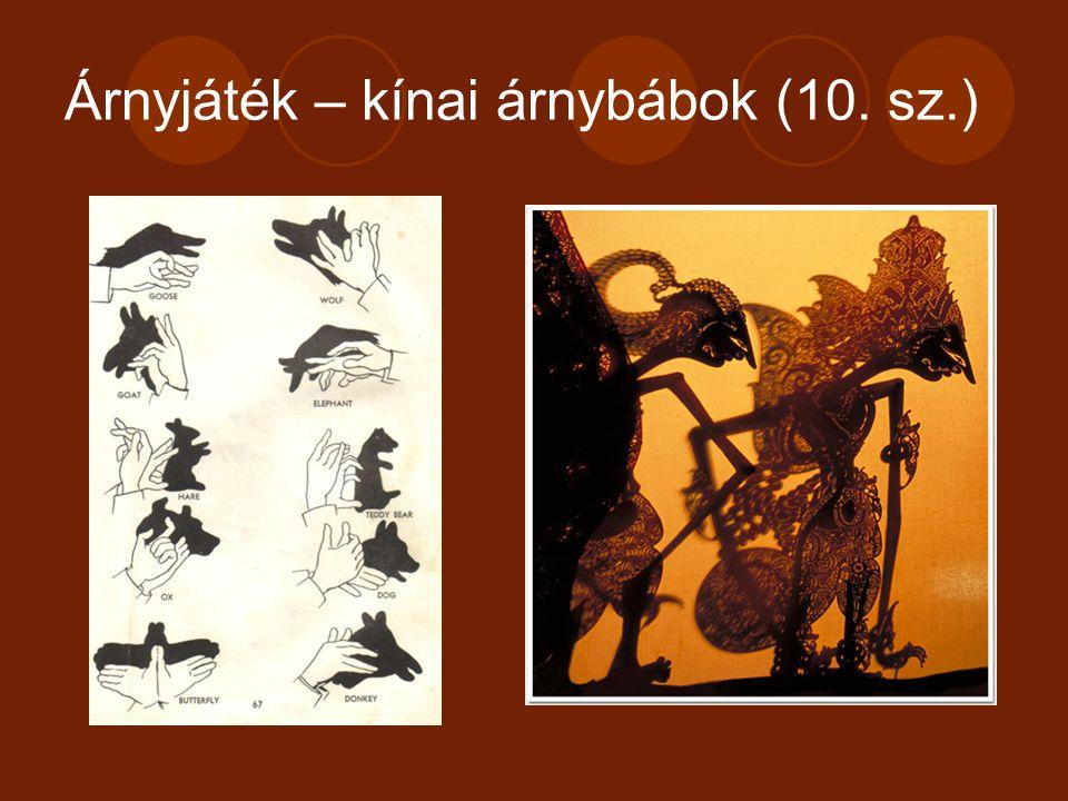 Árnyjáték – kínai árnybábok (10. sz.)