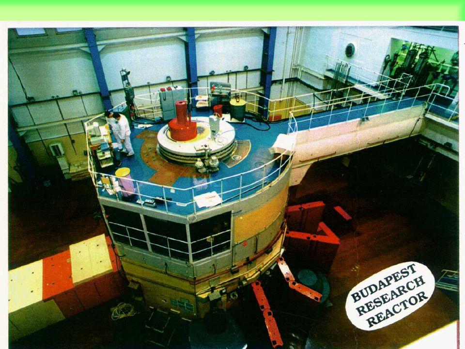 A reaktor és a neutronvezetőcsarnok