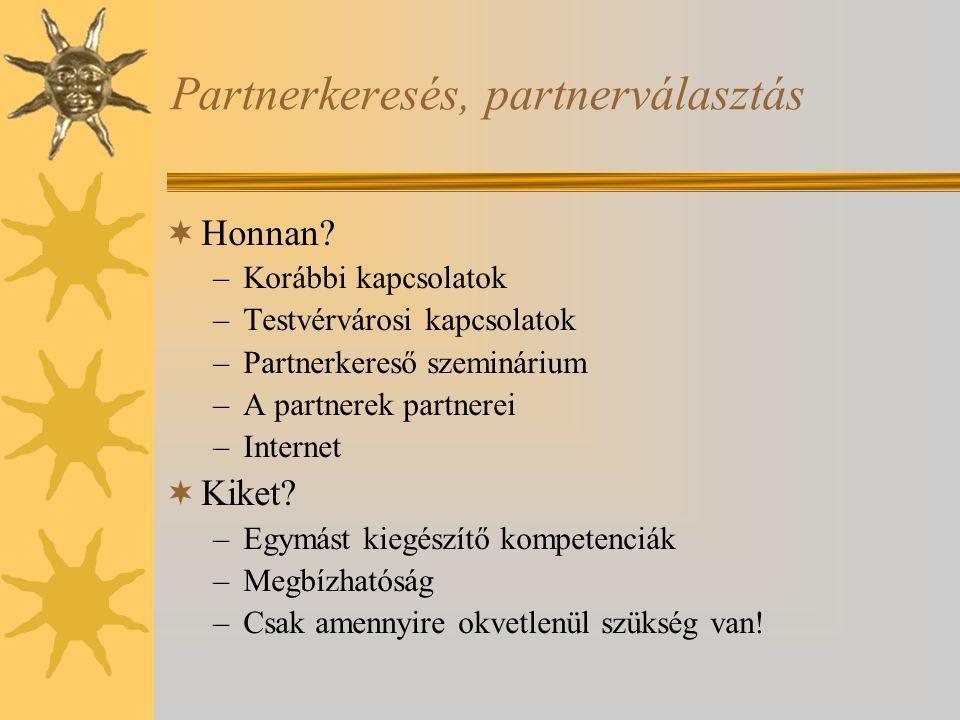 Partnerkeresés, partnerválasztás