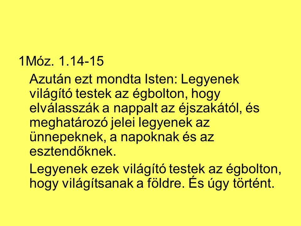 1Móz. 1.14-15